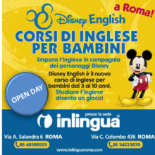 Open Day per i Corsi Disney English a Roma